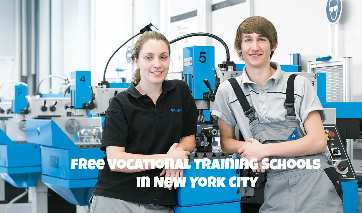 Best Free Vocational Training Programs in New York City (NYC) 2019