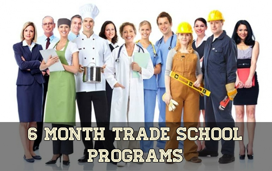Top 6 Month Trade School Programs in the US